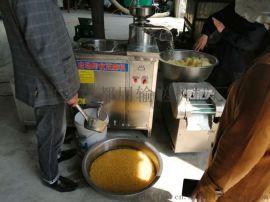 千张豆腐皮机加工机器 家用豆腐磨浆机 利之健lj