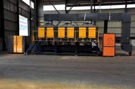催化燃烧设备沸石转轮活性炭吸附废气处理设备