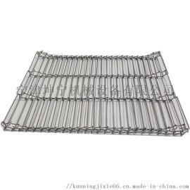 乙形网带食品输送设备输送带304不锈钢