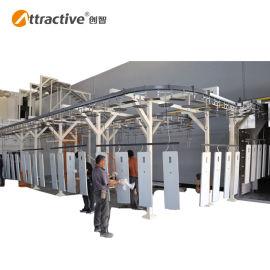 【广东创智】输送流水线 自动涂装线 工业隧道炉