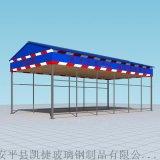 单立柱钢筋棚套丝机防护棚1号钢筋加工棚