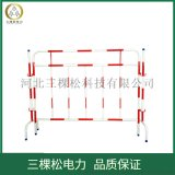 河南不锈钢带式伸缩围栏5米双层隔离带不锈钢安全围栏