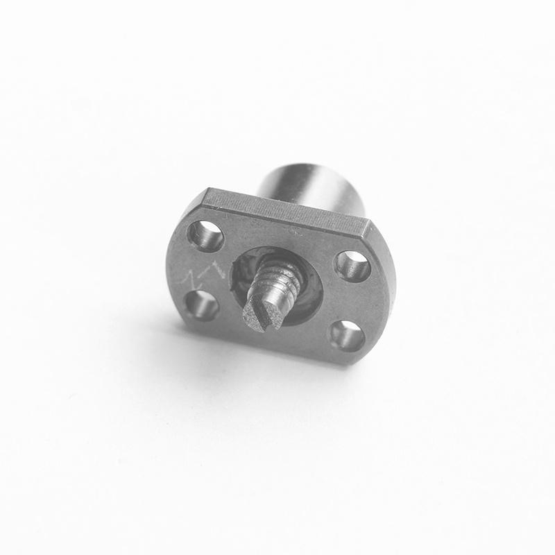 厂家直销 直径4导程1 微型滚珠丝杆副 WKT