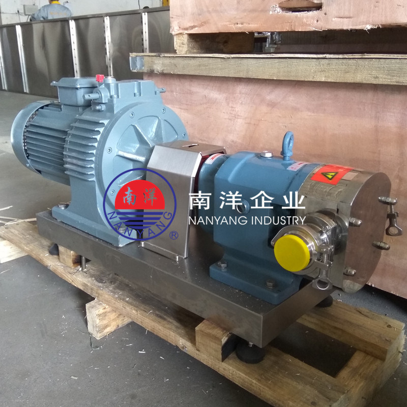 不鏽鋼轉子泵 高粘度凸輪泵 羅茨泵