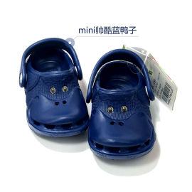 童鞋 儿童洞洞鞋 卡通凉拖鞋