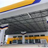 关东加油站铝条扣白色吊顶 贵州中国石化防风铝条扣