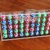 乒乓球箱亞克力球盒收納球箱透明手提箱