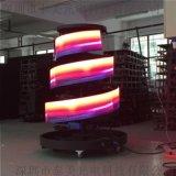 深圳led隧道屏工程 室內全綵柔性螢幕