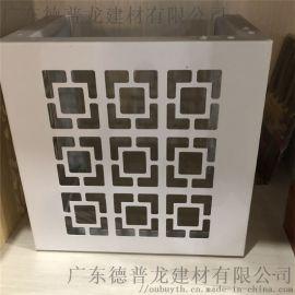 字母雕刻空调罩,铝合金字体雕刻铝单板空调罩