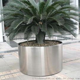 家用艺术花盆 不锈钢花盆 定制不锈钢花盆