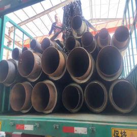 管道聚氨酯直埋保温管 塑套钢聚氨酯预制保温管