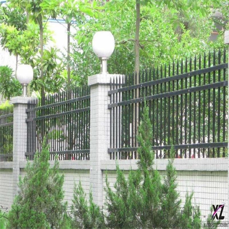 园区围墙护栏@沙市锌钢围墙护栏@围墙护栏钢栅栏