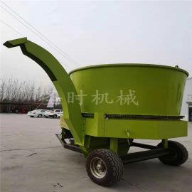新品圆筒式草捆粉碎机厂家移动式农作物玉米秸秆破碎机
