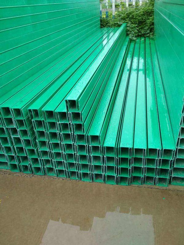 莆田模压电缆桥架 玻璃钢建筑线缆桥架