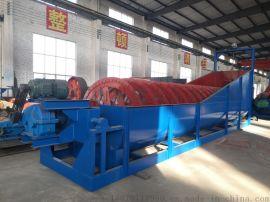 选矿耐磨沉没式螺旋分级机 选矿高堰式单螺旋分级机