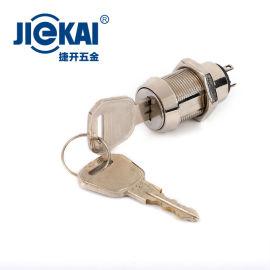 JK207 钥匙开关 厂家直销 数控面板锁