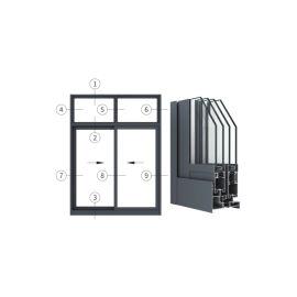 广东兴发铝材创高AL105T24A系列隔热推拉窗
