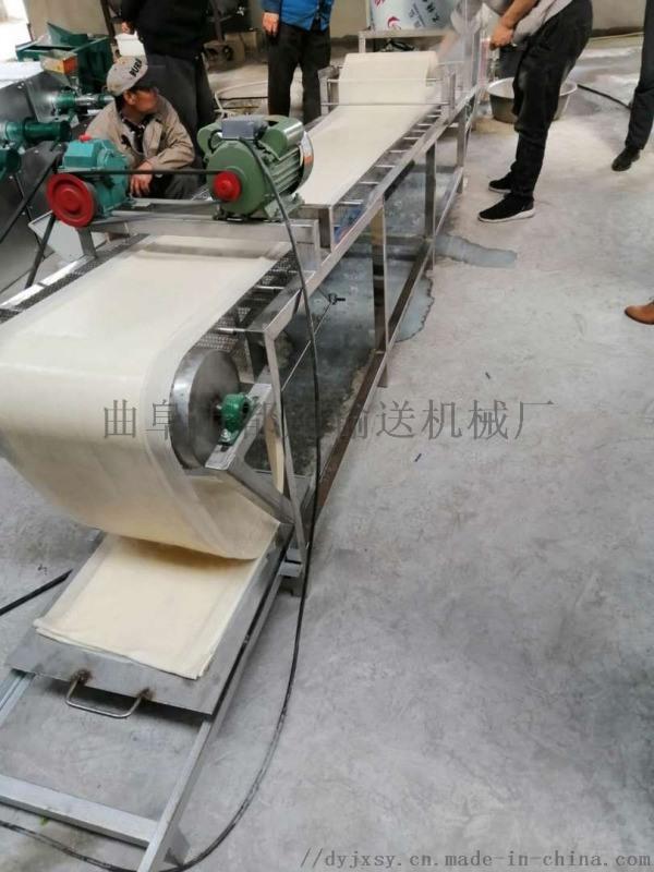 豆制品生产线 人造肉豆皮机器视频 利之健lj 不锈