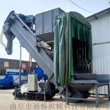 商砼混料站集裝箱粉煤灰水泥倒料設備環保集裝箱卸灰機