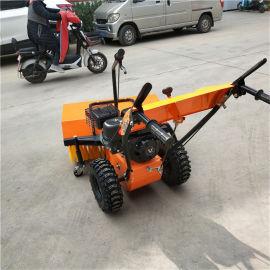 手扶式扫雪机 哈尔滨清雪设备厂家 园林扫雪机