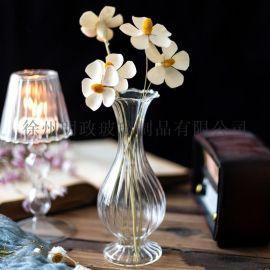 透明花瓶桌面花瓶单支插花瓶装饰花瓶摆件花瓶简约花瓶
