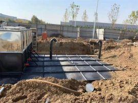 地埋式箱泵一体化装配式复合水箱