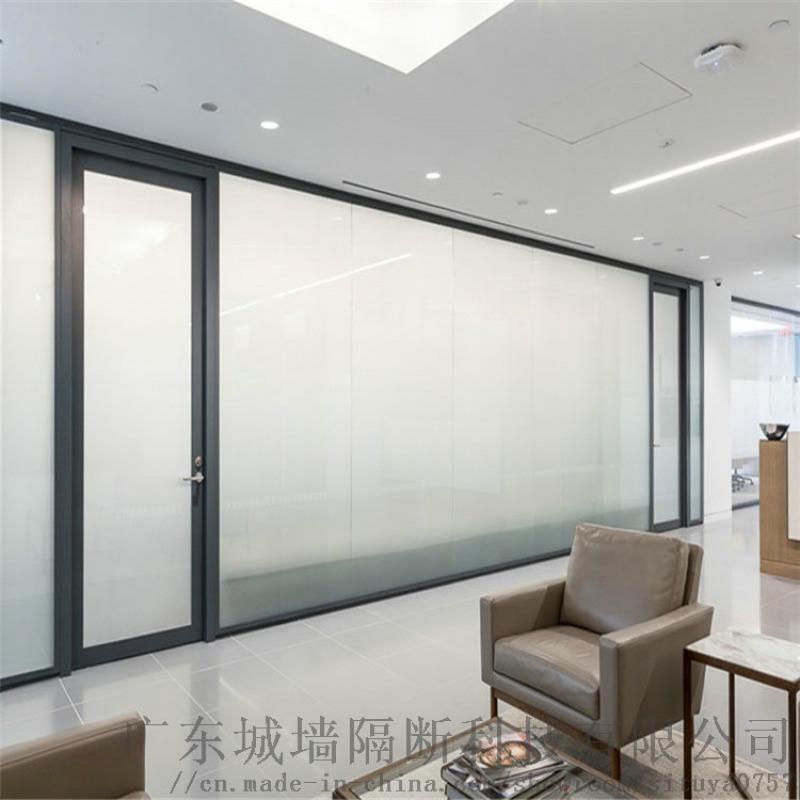 广州调光玻璃隔断,智能电控调光隔断