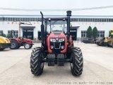 1604四轮拖拉机强劲动力高效作业开荒作业