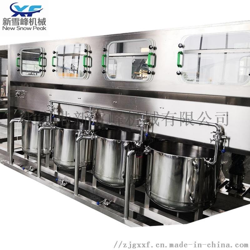 定制大桶水灌装生产线 5加仑液体饮料纯净水灌装机
