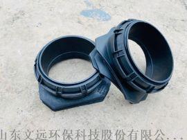 山东塑料检查井配件供应/450系列PE马鞍接头厂家