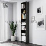 中式品质好书架实木家用书柜带门书房置物架
