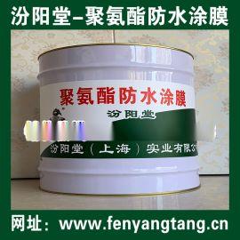 聚氨酯防水涂膜、涂膜坚韧、粘结力强、抗水渗透