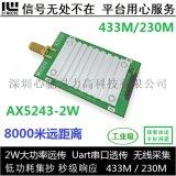 AX5043無線模組 433M/230M數傳模組