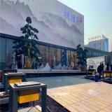 紫雲府外牆藝術穿孔鋁單板 廠區外牆鏤空鋁單板造型