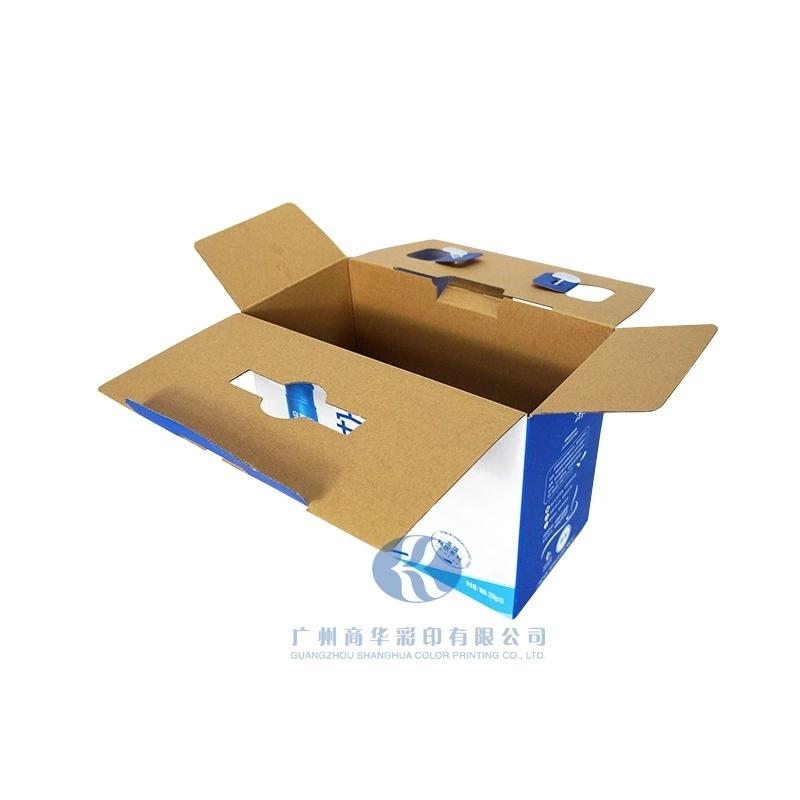 定做食品包装盒手提式折叠纸盒牛奶包装箱印刷订做