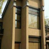 民宿夯土墙做法 稻谷泥墙面材料与施工