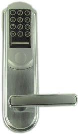 不锈钢酒店门锁密码指纹锁防盗铁门智能锁