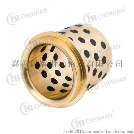 GBW精密自润滑导套_自润滑石墨铜套来图定制加工