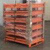 折疊式金屬倉儲籠 堆垛式鐵框 網格箱鋼制周轉