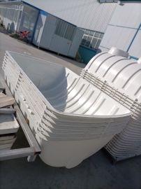 玻璃钢储水罐污水处理两格式蓄水池