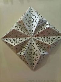 锥形雕花铝单板/造型铝天花金属天花板