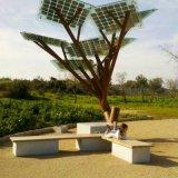 天津和平區智慧城市太陽能座椅,噴泉廣場充電休閒椅