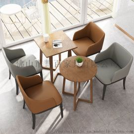 定制休闲 奶茶店桌椅 洽谈甜品店咖啡厅 组合