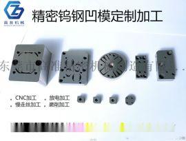 东莞模具生产厂家提供冲压钨钢材质凹模、凸模定制加工