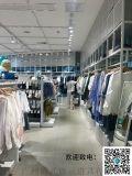 瀏陽市實木衣架服裝店櫥窗展示道具KM服裝展示架
