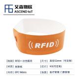 一次性环保纸质rfid医疗腕带 耐撕RFID手环
