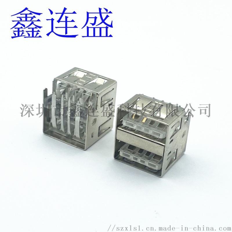 USB AF雙層短體 沉板10.  電流 透明膠心