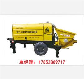HTBS-10S抹灰砂浆专用输送泵  山东欧曼机械