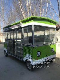 陕西美食电动小吃车多功能快餐车街头流动式特色风味