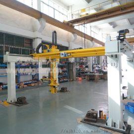 艾京冲压焊接金属加工机器人第七轴行走轴地面式